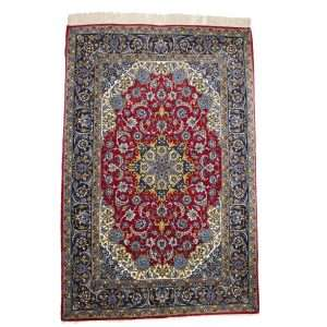 Persian Silk and Wool ISfahan Rug