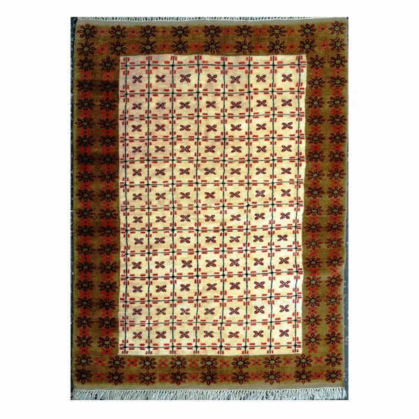 Turkish Yourk Rug with allover small motifs.