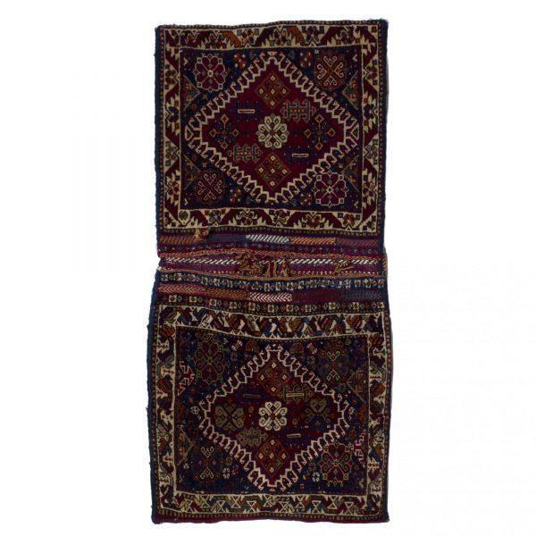 Persian Old Qashaqi Saddle Bag
