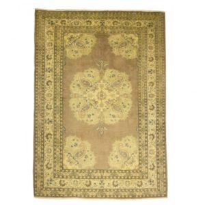 Turkish Ladick Rug Wool on Cotton. Soft coloured