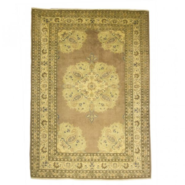Turkish Ladick Rug Wool on Cotton. Soft coloured