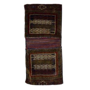 Persian Louri Saddle Bage with fine Wool.