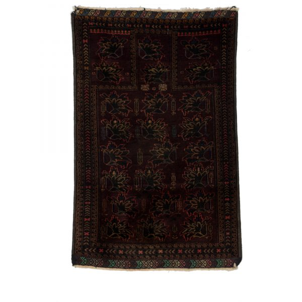 Afghan Bluch Rug with Fine wool on wool .