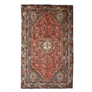 Persian Qashqai Rug with Wool on Wool Rug with soft wool
