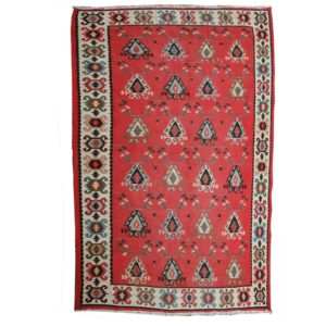 Bulgarian Kilim Rug with all over design