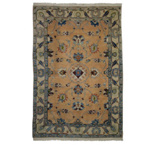 Turkish Azeri Rug with allover design