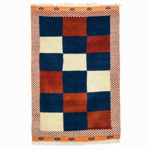 Turkish Yourk rug with vegetable dye and soft wool.