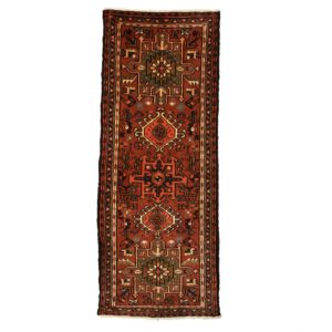 Persian Karaja Runner, with fine wool and vegetable dye