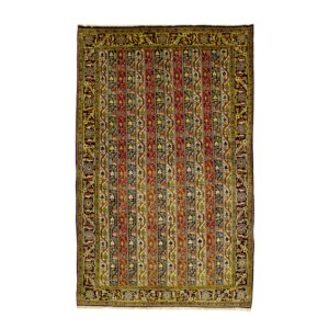 Persian Qum rug with floral motifs