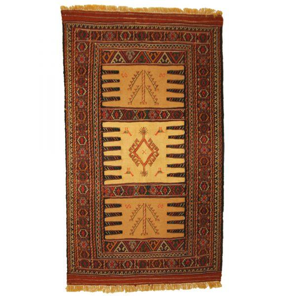 Persian Guchan Turkoman Kilim Rug