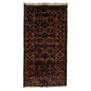 Persian Old Bluch with natural Dye rug.