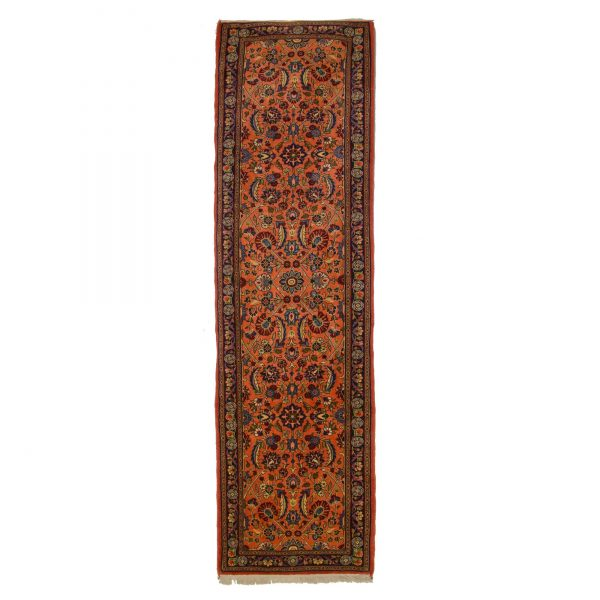 Persian Mahran Runner. With soft colour and fine floral motifs.