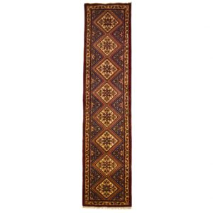 Persian Roodbar Runner with central medallions.