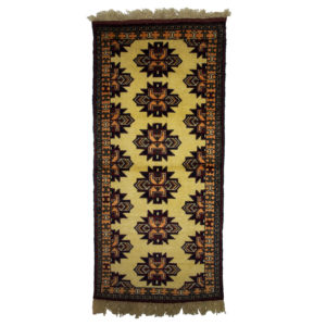 Persian Shriven Runner with large motif
