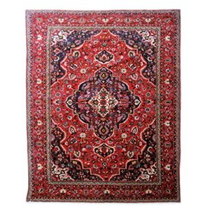 Persian Bakhtiari carpet with floral