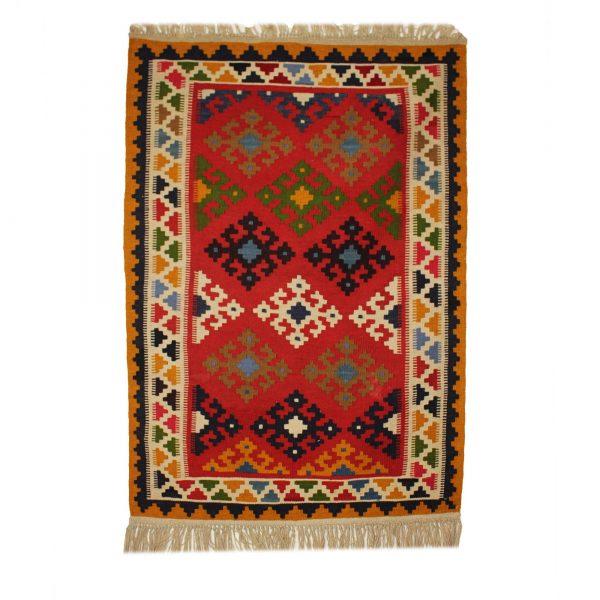 Persian Qashaqi Kilim Rug
