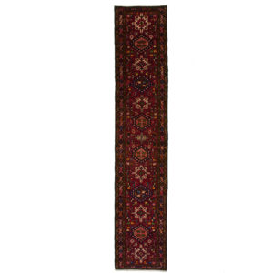 Persian Garageh long runner with centre motifs