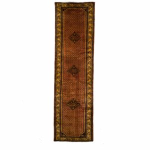 Persian Anjles Runner with Small motif and fine wool.