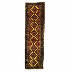 Persian hamadan with geometric floral Medallion