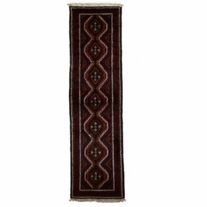 Persian Bluch Runner with Central medallion
