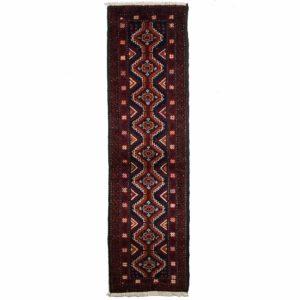 Persian Bluch Runner with diamond motif