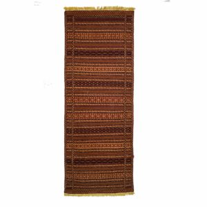 Persian Turkoman Kilim Runner wool on wool
