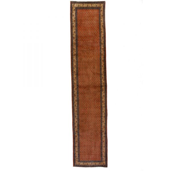 Persian Long Runner from Hossinabad with small mofit
