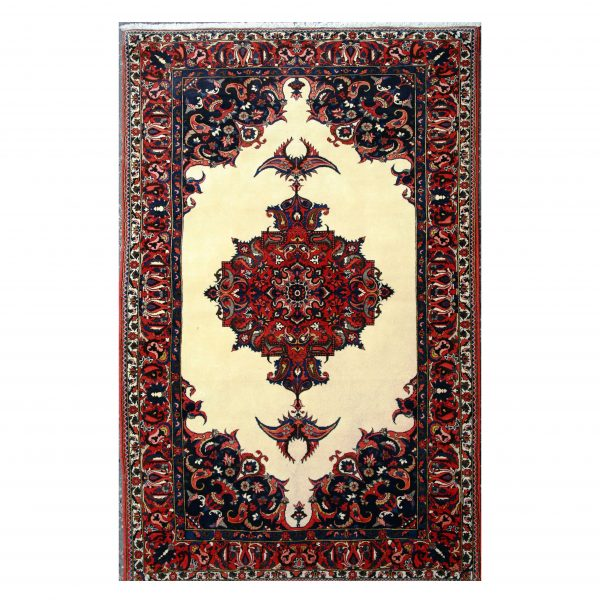 Persian Bakhtiari rug with central medallion