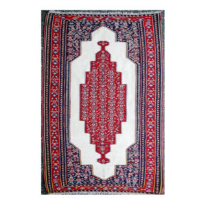 Persian Fine Senneh Kilim with central medallion